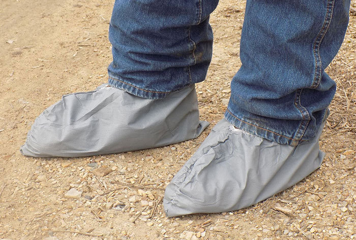 Skid Resistant Shoe Covers - 1